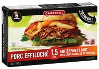 Porc effiloché en sauce barbecue chipotle